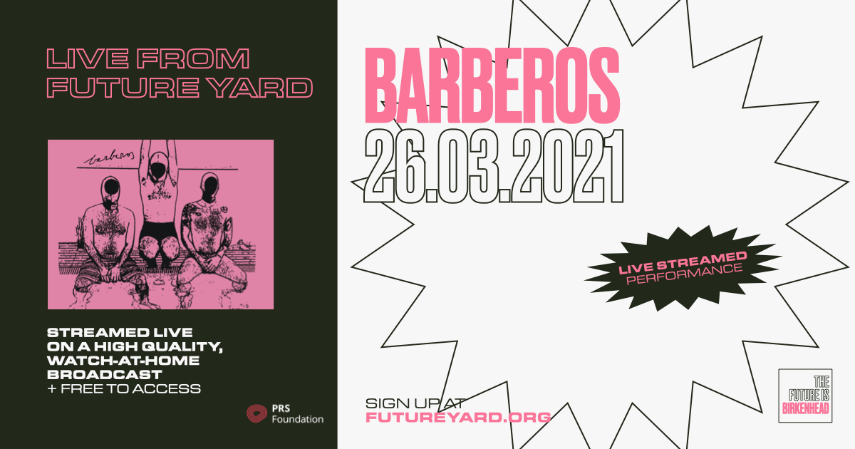 Barberos live stream from Future Yard