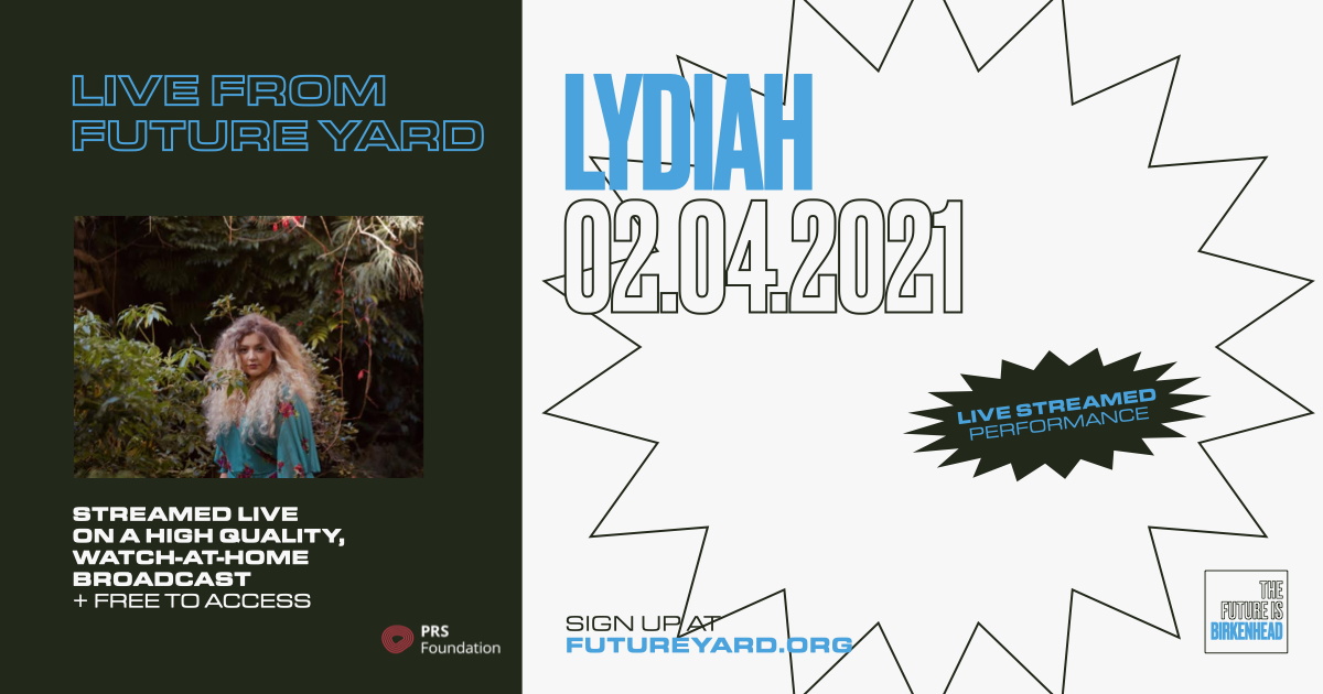 Lydiah live stream from Future Yard
