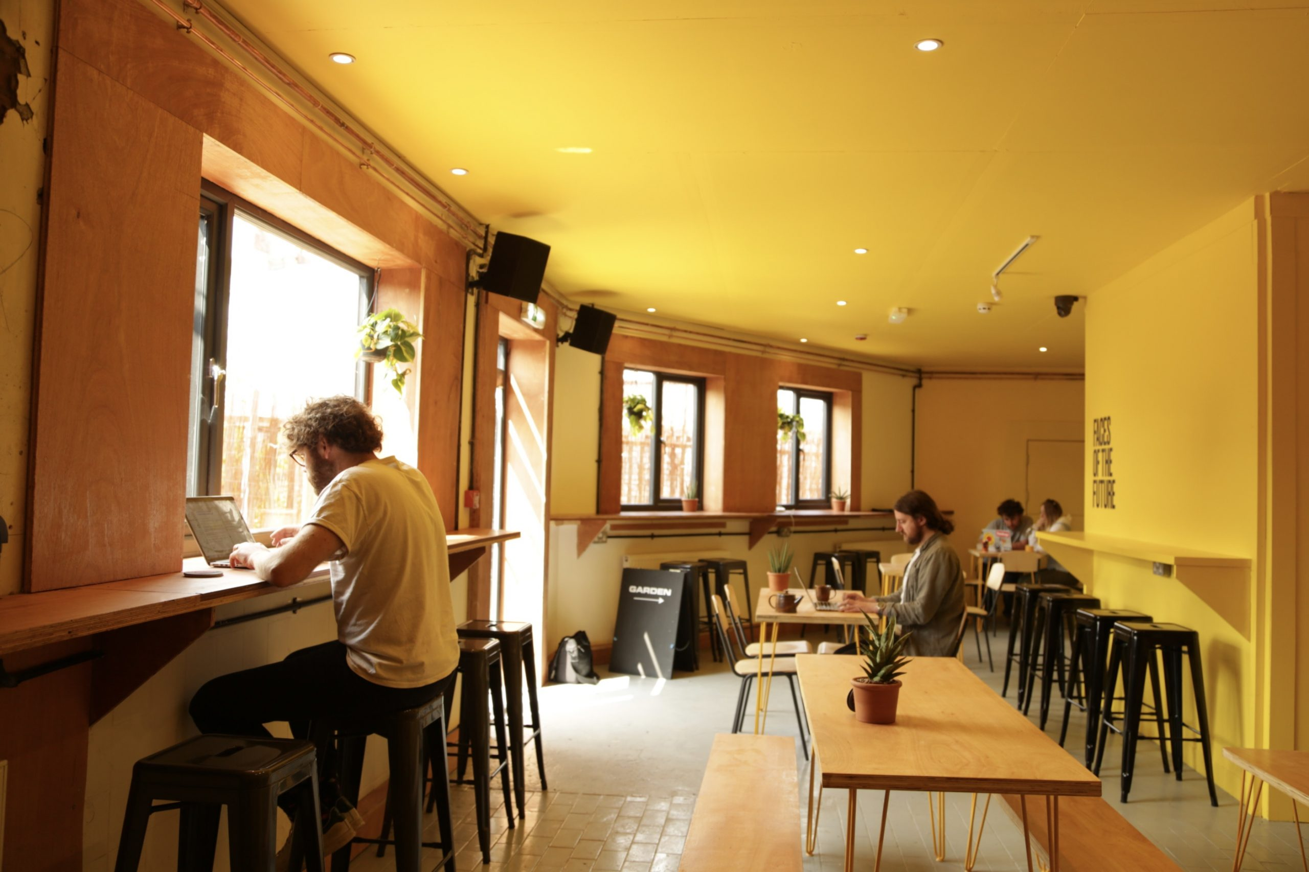 Bar + Coffee Shop @ Future Yard